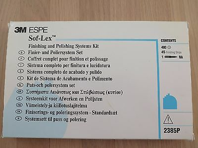 3M ESPE Sof-Lex Finishing and Polishing Systems Kit for Dental
