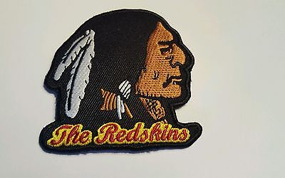"Washington Redskins vintage embroidered iron on patch 3"" x 3"" LOGO PATCHES"