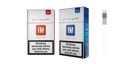 Fm Red Cigarettes 10 Pack
