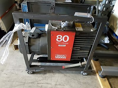 Edwards 80 E2M80 Rotary Vane Dual Stage Mechanical Vacuum Pump