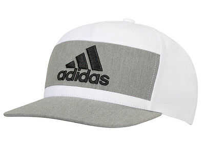 Adidas Heather Block Cap - White