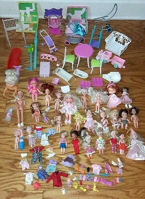 Barbie Kelly & Friends HUGE Lot 29 Dolls Clothes Accessories Tommy Tamika Simba