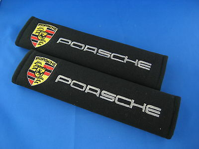 2 x Seat Belt Cover Shoulder Pads Covers Cushion for PORSCHE 911 996  GT3 RS 99