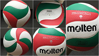 Molten Volleyball Ball Size 5 V5m Soft Touch Outdoor Indoor High Quality 5000
