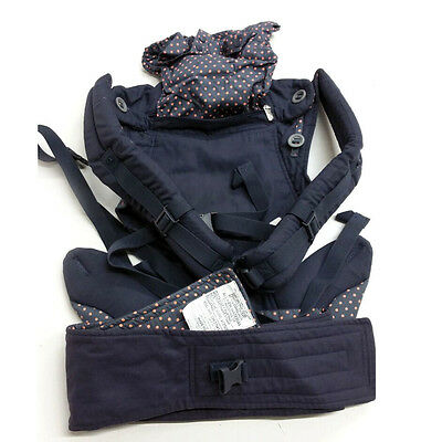 ERGObaby Four Position 360 Carrier Dusty Blue Baby Infant Comfort Adjustable