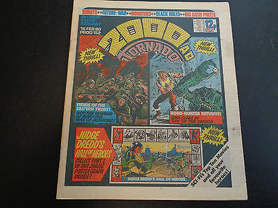 2000AD prog 152 comic in nice conidtion