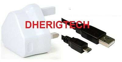Vtech 171613 Kidizoom DX Smart Watch REPLACEMENT WALL CHARGER & USB LEAD