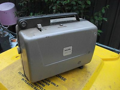 Minolta 8mm Movie Projector Model AP-8 unknown working condition as is no chord