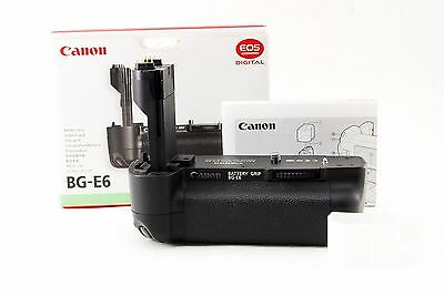 Canon Battery Grip BG-E6 for Canon EOS 5D Mark II Excellent+++ W/BOX from Japan