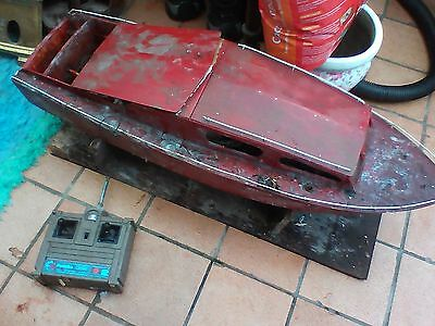 Radio Controlled Boat - Vintage - Restoration Project