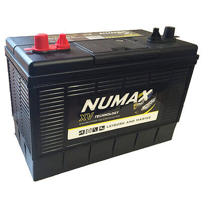 Numax XV31 HD Ultra Deep Cycle Leisure Marine Battery 12V 110AH 800EN 1020MCA