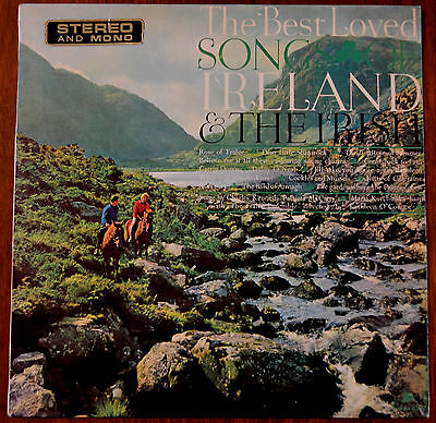 Best Loved Songs Of Ireland And The Irish LP – SOC 967 – VG
