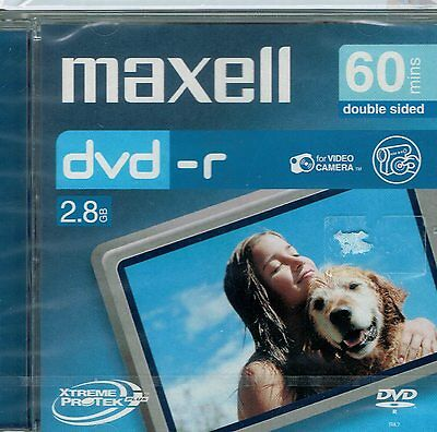 maxell 60min Double Sided 2.8GB 8cm DVD-R