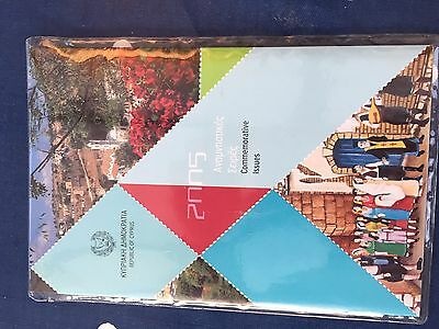 Cyprus Commemorative 2005 year pack incl 2 miniature sheets