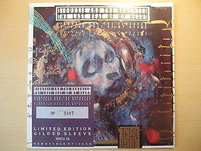 SIOUXSIE & THE BANSHEES - The Last Beat of my Heart SHEG16 Ltd Edt Gilded Sleeve