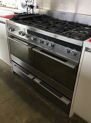 Fisher and Paykel OR120DDGWX1 120 cm Dual (Electric and Gas) Kitchen Range