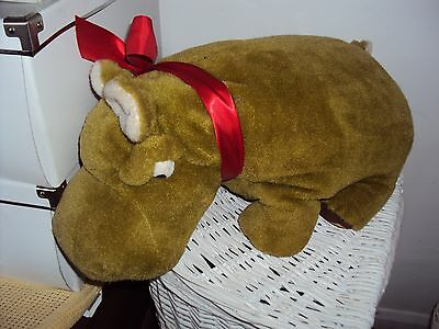 Merrythought Very Large Green Hippo Rare 25 Ins