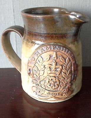 brown jug from Hampshire