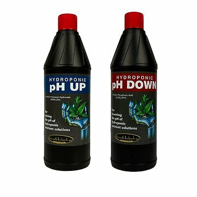Growth Technology pH Up and Down 250ml and 1L