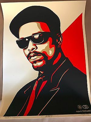 Shepard Fairey (OBEY) - ICE-T OG Red (signed and numbered /300)