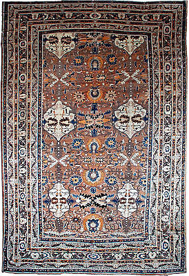 Antique Persian Tabriz Carpet BB1011