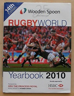 Rugby World, Wooden Spoon Yearbook 2010.