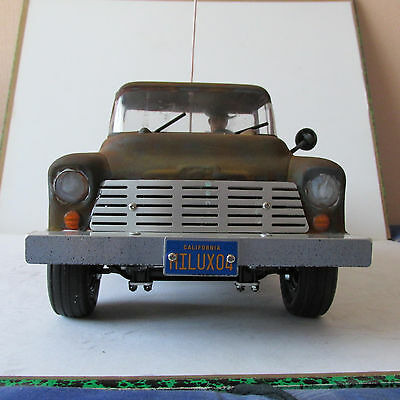 Chevrolet Pick Up 1957 Weathered Vintage 1/10 Scale Rc Model