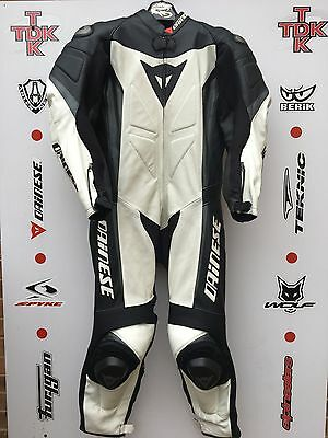 Dainese Crono 1 piece race suit with hump uk 46 euro 56