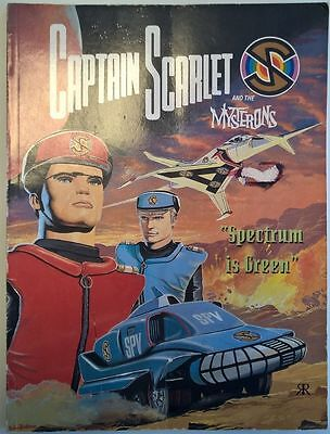 Captain Scarlet  Spectrum is Green Ravette comic albums Gerry Anderson