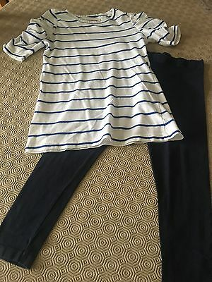 Girls Top and Leggings, Age 8-9 Years.