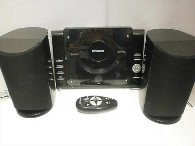 KS-3398A CD Player with FM Radio - Micro CD System - Black