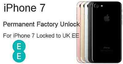 Ee Uk Iphone 7 And 7 Plus Unlocking Service Only Working Service