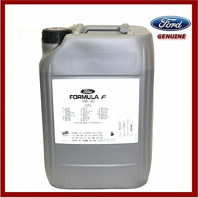 Genuine Ford Fully Synthetic 5W30 Engine Oil 20 litres Formula F 1502272