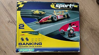 scalextric advanced banking track system
