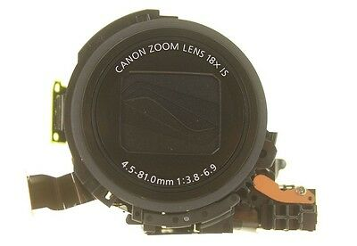 Canon Powershot Sx 600Hs Optical Lens Unit Black Made By Canon New Genuine