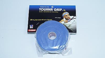 *NEW*30x Unique Tourna Grip XL Original Overgrip Tennis absorbing blue tour pro