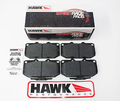 Front Fast Road/Track Day Hawk HPS Race Brake Pads Fits Nissan 200SX & 300ZX