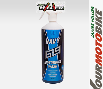 6t9 NAVY Motorbike Wash Motorcycle Spray Cleaner works upside down