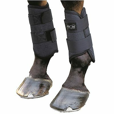 MARK TODD PRO MESH XC BOOTS Cross Country Neoprene Free Light Black Front Hind