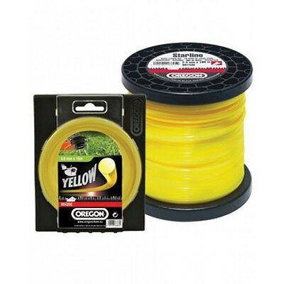 OREGON YELLOW ROUNDLINE - nylon strimmer trimmer brushcutter cutting line spool