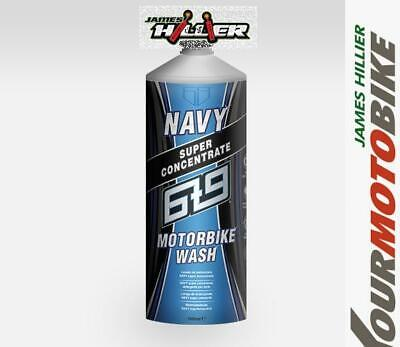 6t9 NAVY Super Concentrate Motorbike Wash Motorcycle Cleaner works upside down