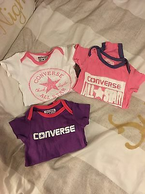 Converse Vests Baby Girl
