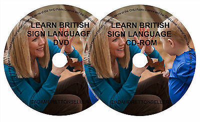 Learn British Sign Language (Bsl) Dvd & Cd-Rom Software Course