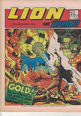 Lion and Thunder comic - 23rd December 1972