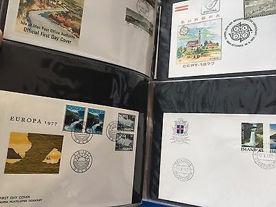 83 FDC covers all Europa CEPT issues in nice album excellent blocks !!!