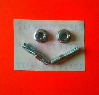 APRILIA SR 50 DITECH 03 > 04 PIAGGIO MOT 6MM M6 Exhaust Studs & Nuts Set VE13017