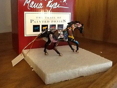 Trail of Painted Ponies Figurine Artist Signed BOOTCAMP Ornament