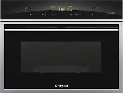 LUCE by Hotpoint MWX431.1X 45cm Combination Microwave RRP £399