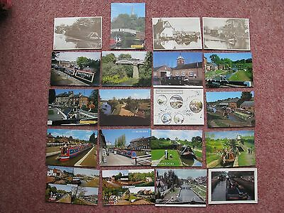 #18 - 20 x GRAND UNION CANAL POSTCARDS - #2 set