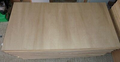 5 pieces of NEW 9mm Top quality B/BB Grade Hardwood Plywood 48in x 24in